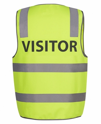 JB'S HI VIS D+N SAFETY VEST VISITOR